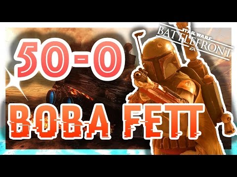 50-0 Boba Fett In Hero Hunt! - During Live Stream! - Star Wars Battlefront