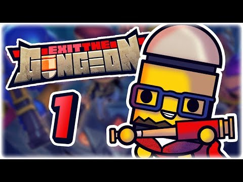 NEW ENTER THE GUNGEON GAME | Part 1 | Let's Play Exit the Gungeon | Apple Arcade iPad Gameplay HD