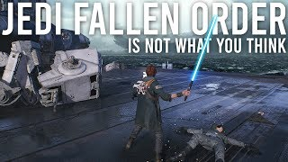 Jedi Fallen Order is not what you think it is - New Gameplay