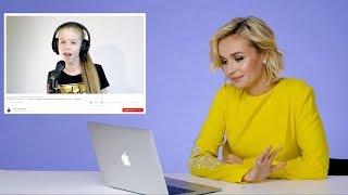 """Полина Гагарина слушает каверы на свои песни: """"Слезы мешают говорить!"""""""