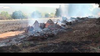 As queimadas continuam a ocorrer.  Fazendeiros na região de Areado fazem apelos ao poder público, para conter focos, principalmente às margens de rodovias.