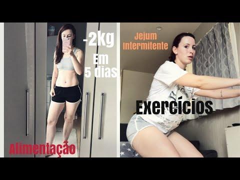 Jejum + Dieta + Exercícios