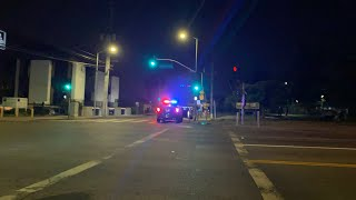 West Los Angeles police pull over