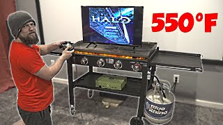 Can I Beat Halo Before My Grill Melts My TV?