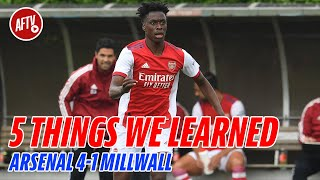 Five Things We Learned   Arsenal 4-1 Millwall