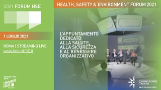 Youtube: Digital Talk | Lo Smart Working come normalità? Immaginare il lavoro del domani: tra legislazione, digitalizzazione e nuove competenze | Forum HSE 2021