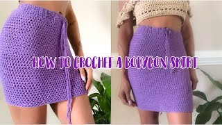 Tips For Crocheting A Body-con Skirt