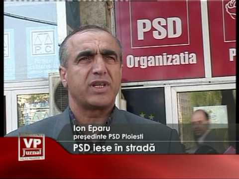PSD iese in strada