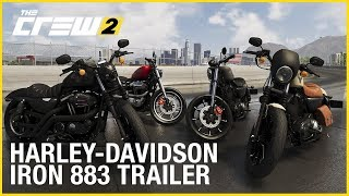 Ride outside the lines with the Harley Davidson Iron in The Crew 2! Sign Up for Beta Access: http://thecrewgame.com Launch Date: June 29, 2018 Available on XBox One, PS4 and PC – PC Editions...