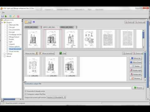PDF Split and Merge Basic  tutorial
