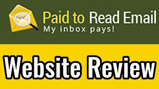 4:53 Now playing Paid To Read Email Website Review : Earn $$ For Every Email (Plus Many More Earning Opportunities)
