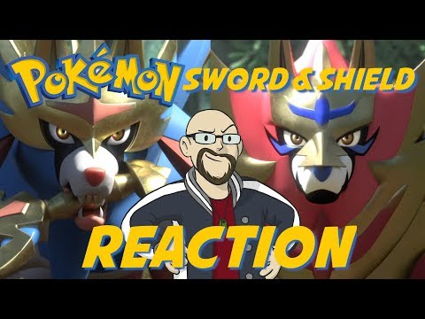 Pokémon Sword and Shield Direct REACTION - Open World, Dynamax & New Legendary Pokémon!