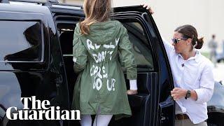 Melania Trump wears