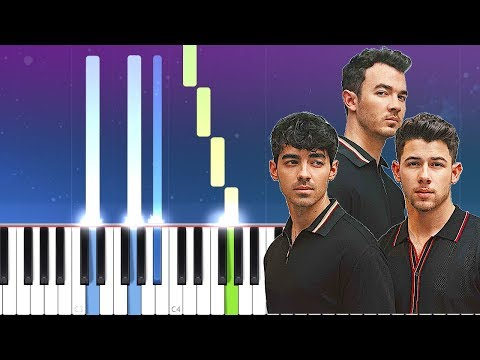 Jonas Brothers - Only Human (Piano Tutorial)