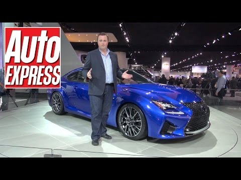 Lexus RC F at the Detroit Motor Show 2014 - Auto Express