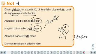 Eğitim Vadisi AYT Edebiyat 3.Föy Şiir 2 Konu Anlatım Videoları