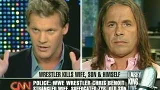 CNN Larry King - Chris Benoit story 2007