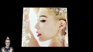 Unboxing Tiffany Young 2nd Mini Album Lips On Lips