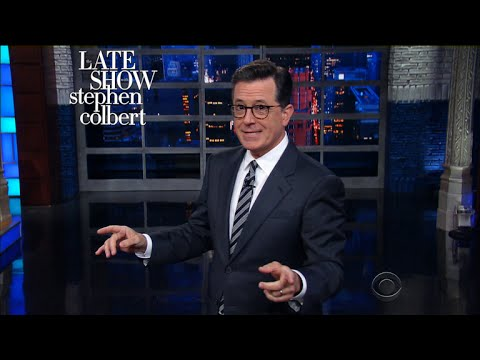 Stephen Introduces His Anthony Scaramucci Impression