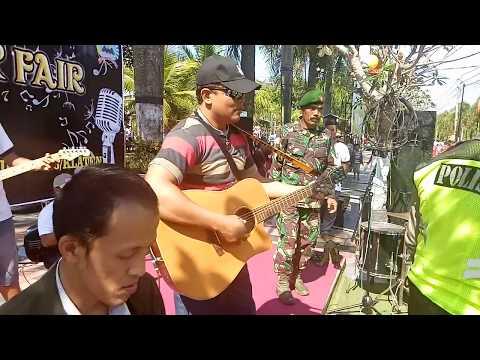 Video Ter Band Kodim 0723/Klaten Ramaikan Festival Kuliner Klaten 2017