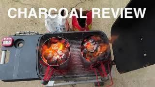 KINGSFORD Long Burn Charcoal -VS- B&B Competition Char-Logs