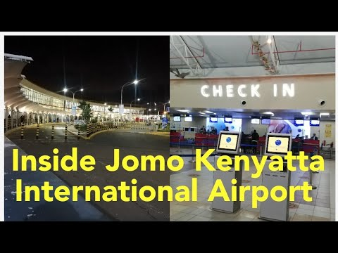Nairobi, Jomo Kenyatta International Airport Experience  | JKIA | Terminal 1A | Kenya | 2021