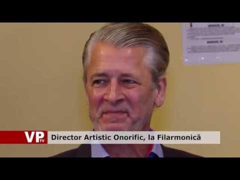 Director Artistic Onorific, la Filarmonică