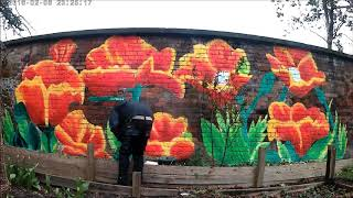 Calderstones Eco-Garden Mural