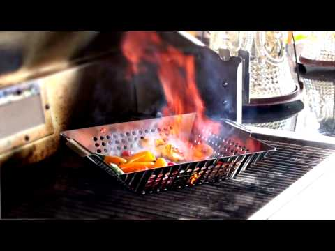 Outset Stainless Grill Wok Overview
