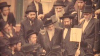 Rare Footage - Satmar Rebbe, Rabbi Yoel Teitelbaum - 1965 | רבי יואל טייטלבוים מסאטמאר זי