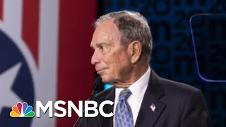 Bloomberg Fires Back Against Trump's Tweets, But Will Other Critiques Hurt His 2020 Chances?  MSNBC