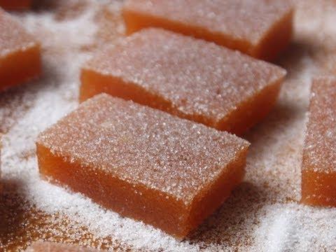 Fresh Peach Candy – Peach Gelee Recipe – Jellied Peach Sweets