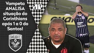 Esquece a Libertadores? Veja o que Vampeta falou do Corinthians após 1 a 0 do Santos