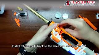 nerf awp sniper rifle bolt action retaliator mod kit - TH-Clip