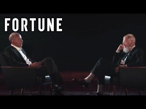 Obama and Letterman Reunite on New Netflix Show I Fortune