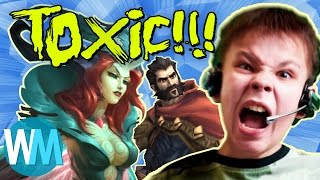 Top 10 Most Toxic Video Game Communities