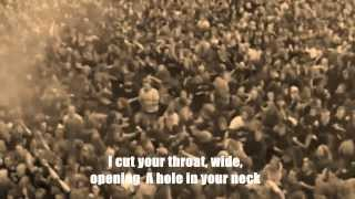 SIX FEET UNDER - Silent Violence [Lyric Video/Lyrics on screen]