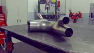 CMS Scavenge Exhaust for 991 GT3