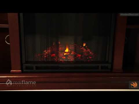 Real Flame Churchill Corner Electric Fireplace