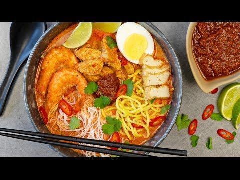 Red Curry Laksa Noodle Soup