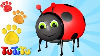 TuTiTu Animals | Animal Toys for Children | Beetle and Friends