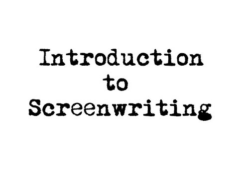 Learn the fundamentals of Screenwriting as well as substance in your storytelling!