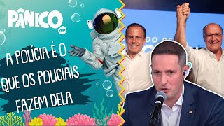 Capitão Derrite: 'Doria fez a PM de São Paulo sentir saudades do Alckmin'