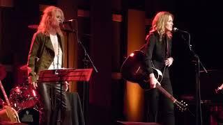 Shelby Lynne & <b>Allison Moorer</b>  Lithium Nirvana Cover World Cafe Live Phila 8/25/2017