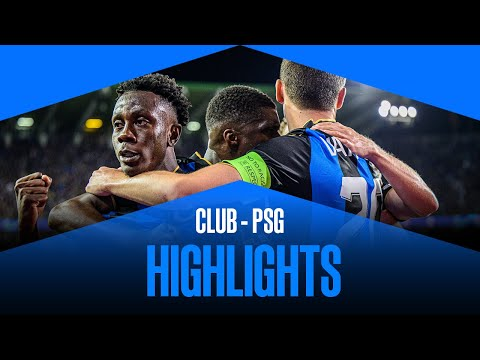 Club Brugge vs Paris SG</a> 2021-09-15