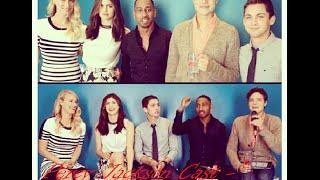 Percy Jackson Cast - Funny Moments