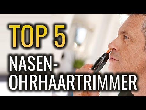 ✅ DIE 5 BESTEN NASENHAARTRIMMER in 2019 - Vergleich Test für Nasen und Ohr haar trimmer Testsieger