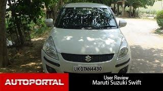 Maruti Suzuki Swift User Review - 'great mileage' - Auto Portal