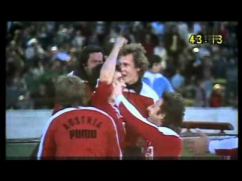 Fussball-WM Córdoba 1978 -  Deutschland - Österreich 2:3