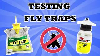 Fly Traps - Rescue Fly Trap and Victor Fly Magnet - Do They Work?